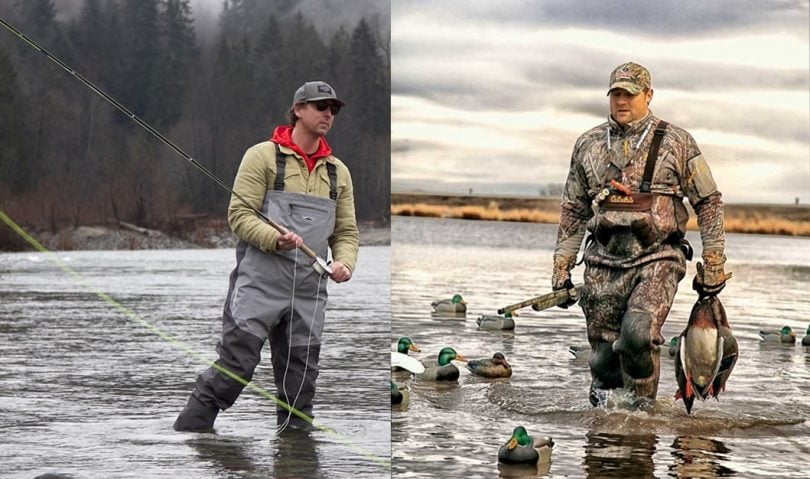 Best waders for duck hunting & fishing
