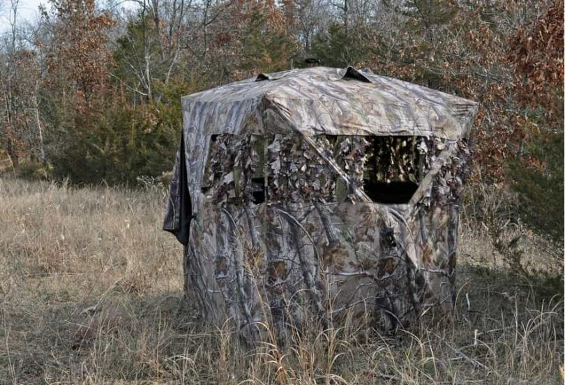 may up the be arrange easiest tips hunting blind edge ground set blinds or deer setup of hunt how to in chair fields food your for maximize on plots