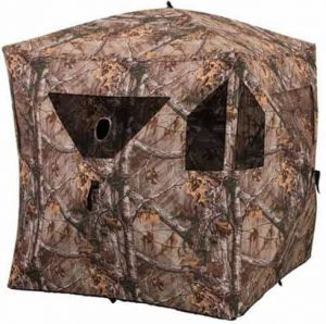 Evolved Ingenuity 1RX3H019 Hunting Brickhouse Ground Blind