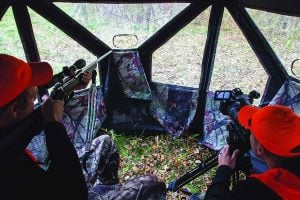 Size of hunting blind