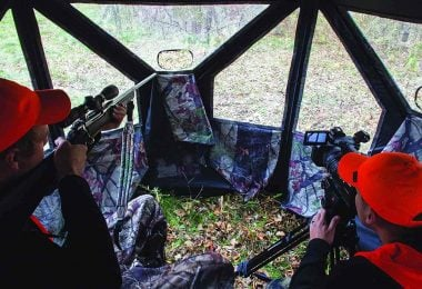 how to hunt from a ground blind
