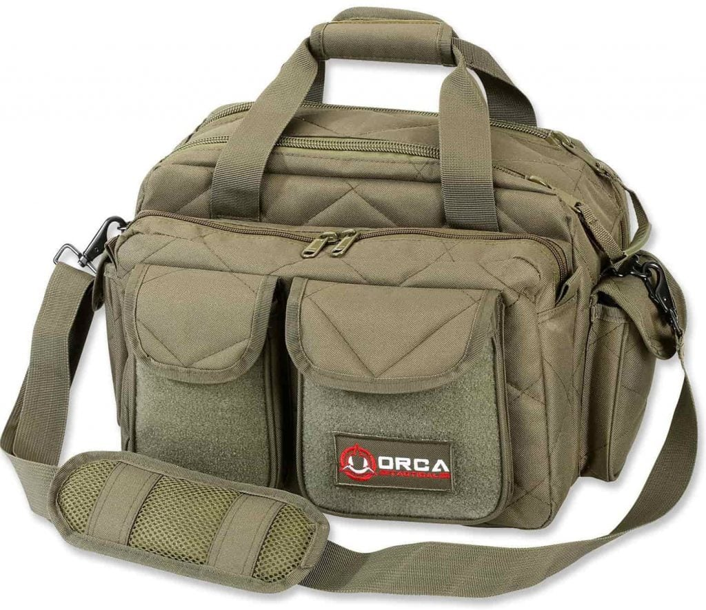 Orca Tactical Gun Pistol Handgun Shooting Range Duffle Bag Review