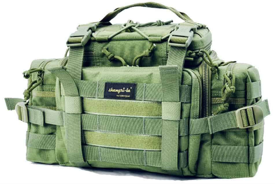 SHANGRI-LA Tactical Assault Gear Sling Pack Range Bag Waist BagShoulder Backpack Review