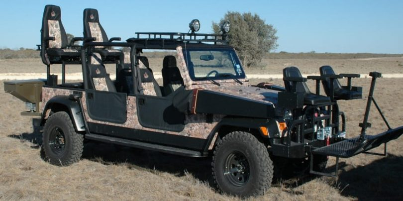 How to upgrade your jeep for hunting